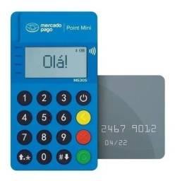Título do anúncio: Point Mini NFC - Leitor De Cartão Do Mercado Pago Bluetooth Frete Grátis