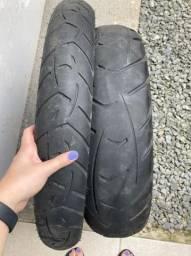 Par de pneu gs 800