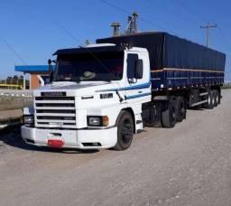 Título do anúncio: Scania 112 HS engatado Randon 2014