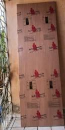 Título do anúncio: Porta de Madeira Jatobá Schlindwein Lisa Verniz 210X70CM