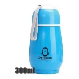 Título do anúncio: Mini Garrafa Térmica Termolar 300ml Azul