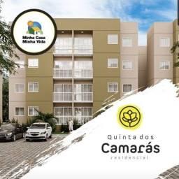 Título do anúncio: Quinta dos Camarás Apto 02 qts/Suíte/Varanda e Elevador de Carga-Entrada em até 48x