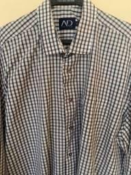"""Título do anúncio: Kit (04 Unid) Camisa Social, todas manga comprida, todas tamanho 5/""""GG""""."""