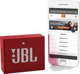 Título do anúncio: Caixa de Som JBL Go 2 - Original , Bluetooth, À Prova D´Água, 3W, Vermelha - Jbl GO 2 RED