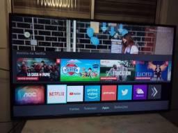Título do anúncio: Smart tv 43 AOC Roku perfeita