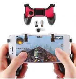 Título do anúncio: (NOVO) Gamepad Controle Para Celular 5 Em 1 Gatilho + Analógico