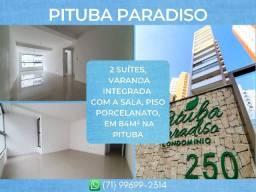 Título do anúncio: 2 suítes em 84m² com 2 vagas de garagem na Pituba - Espetacular