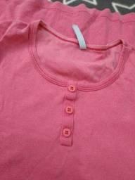 Título do anúncio: Camiseta Rosa