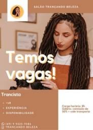 Título do anúncio: Vaga: Trancista