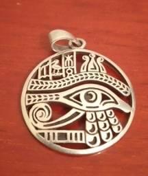 Pingente De Prata 925 Olho De Horus