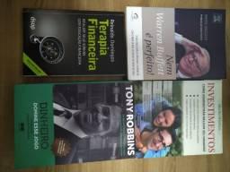 Título do anúncio: Livros Usados sobre Investimento e Dinheiro