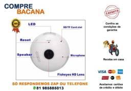 Título do anúncio: Lâmpada Bulbo Câmera 360 Hd Espião Wifi V380
