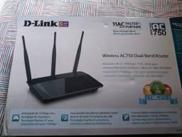 Título do anúncio: Roteador Dual band D-link DIR-809