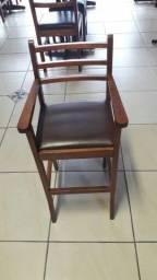 Título do anúncio: Cadeira alta infantil em várzea Paulista