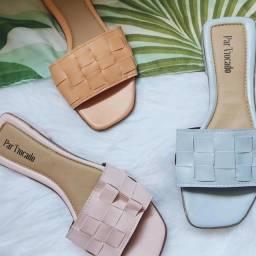 Título do anúncio: Sandálias rasteirinhas