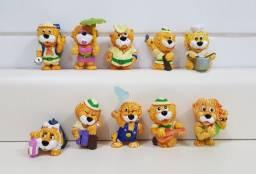 Coleção Miniatura Kinder Ovo Léo Ventura Completa