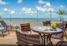 Título do anúncio: Seus Sonhos Agora - Vista Livre do Mar - Mobiliado - 18º Andar - 1 Quartos - Golden Tower