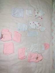 Título do anúncio: Enxoval Conjuntos/pagão Rn bebê menina