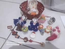 Pequenos objetos para decoração da casa