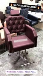 Título do anúncio: Cadeira Diamante Fixa Lançamento