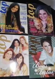 8 Exemplares da revista Top