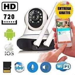 Camera Ip De Seguranca Sem Fio 2 Antena Sistema Yyp2p