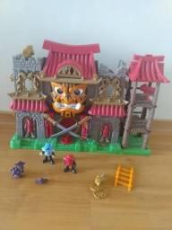 Castelo Ninjas da Fisher Price