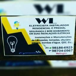"""eletricista instalador Wellington?"