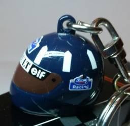 Capacete Formula 1 miniatura - Damon Hill