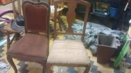 Cadeira e mesa provencal