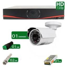 Kit CFTV 01 Câmera infra hd 720p importado