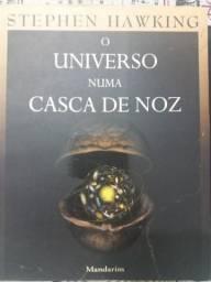 Livro O universo numa casca de noz - Stephen Hawking