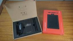 Mesa Digitalizadora One by Wacom, com caneta sem fio digital sensível à pressão