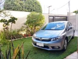 Honda Civic - LXR - 2014 - Motor 2.0 Flex - Baixa quilometragem - 2014