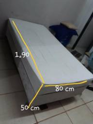 Cama Box Solteiro Super Conservada Wats *