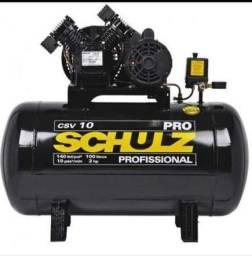 Compressor de ar Schulz 10/100 Novo