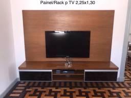 Painel com Rack para TV - Material de excelente qualidade
