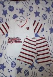 Pijama infantil Flamengo