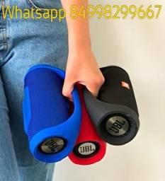 Caixa De Som jbl Boombox Bluetooth 30w laterais em metal 23cm