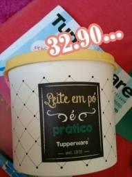 Caixa tupperware bistrô leite