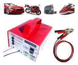 Carregador de bateria para carro, moto, barco e caminhão