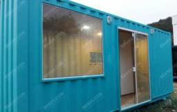 Kitnet Rústica em Container
