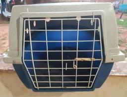 Caixa de transporte azul dog lar N.4