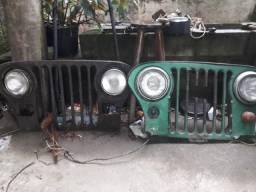 Frente do Jeep