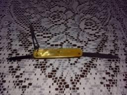 Canivete alemão antigo solingen Rostfrei cabo baquelite perolado