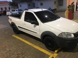 Fiat strada hard working cs, muito nova - 2017
