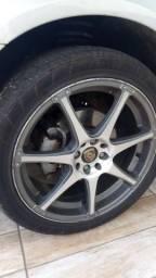 Troco rodas 18 por medidas menores 15,16 ou 17