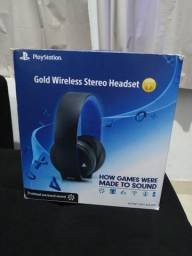 Gold Wireless Stereo Headset PS4 PlayStation 4