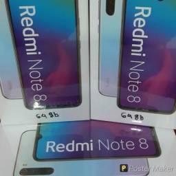 Xiaomi note 8 Lacrado original 64gb azul ou branco