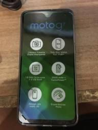 Moto g7 ônix 64 gb vidro 3D